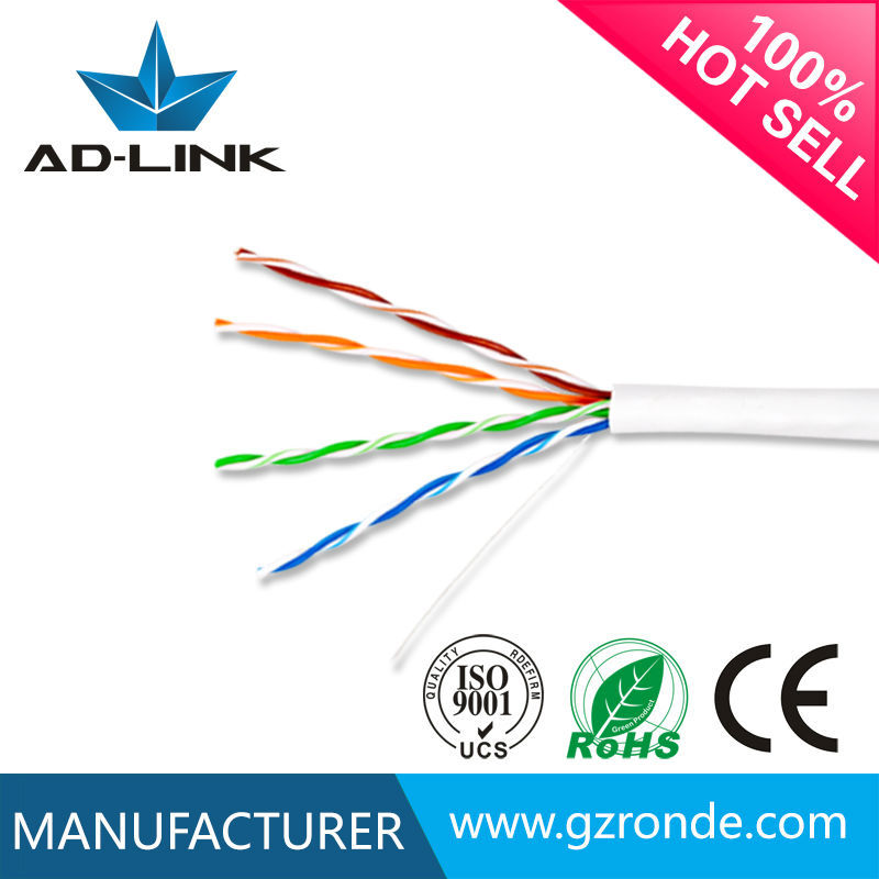 Professional chinese cable factory network cabo cat 5e