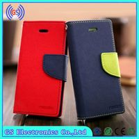 Wholesale High Quality modern fancy diary original Goospery PU leather case for Samsung Galaxy S5 MINI