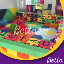 Kindergarten soft play area, EPP building block indoor children soft play