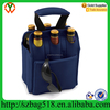 2015 neoprene Picnic Time 6-Pack beer bottle Insulated Tote carrier
