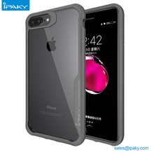 Ipaky Custom Transparent TPU Cell Phone Case Free Sample Mobile Back Cover For Iphone 7 7Plus