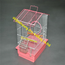 pvc coated steel wire bird cage /parrot cage