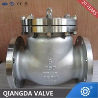 WCB Flanged Stainless Steel SS316 SS304 API Swing Check Valve