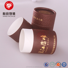 Recycled packaging cylinder tea boxes/Cheap quality food-grade paper box packaging/Small cardboard tube tea packing container