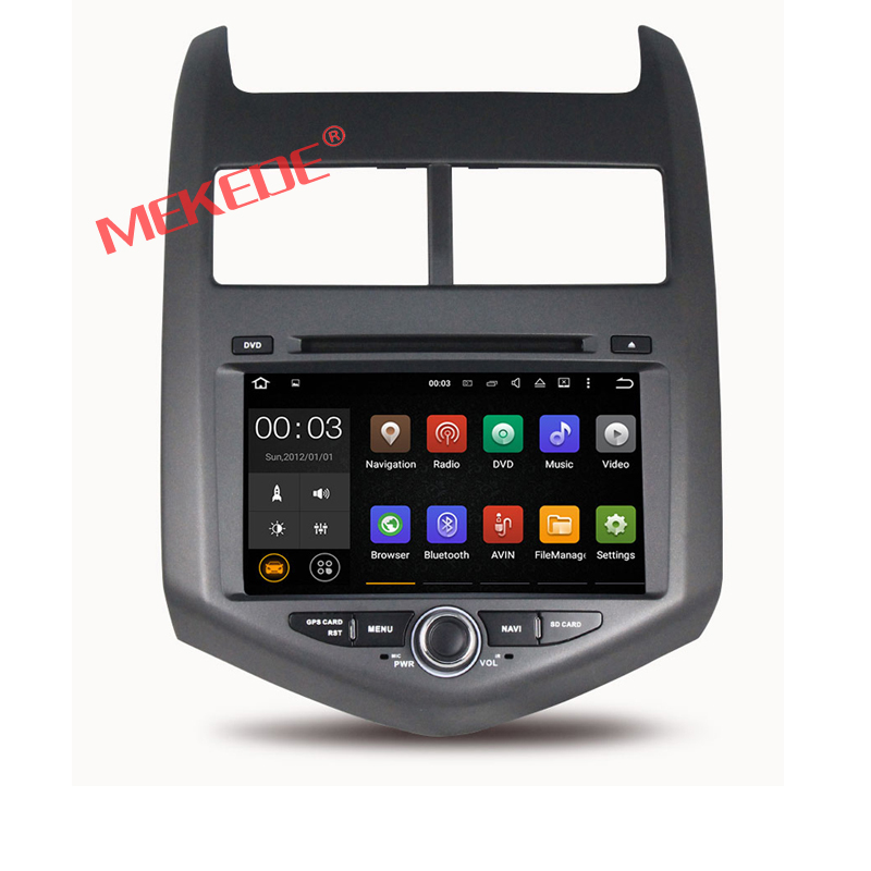 Android 7.1 CAR DVD player GPS navigation For CHEVROLET AVEO with WIFI 4G GPS map car multimedia radio auto 2GRAM