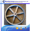 China Supplier Cast Iron V Belt Pulley with Solid Hub