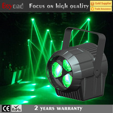 Low profile 3x15w 4 in 1 quad-color mini bee eye disco led par can lights