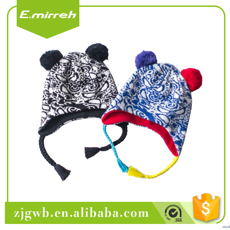 Best wholesale wesite polar fleece beanie wholesale knit winter hat