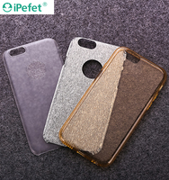 Crystal Glitter Soft 3 in 1 slim 4.7 inch Tpu Pc Mobile Phone Case for iphone 6
