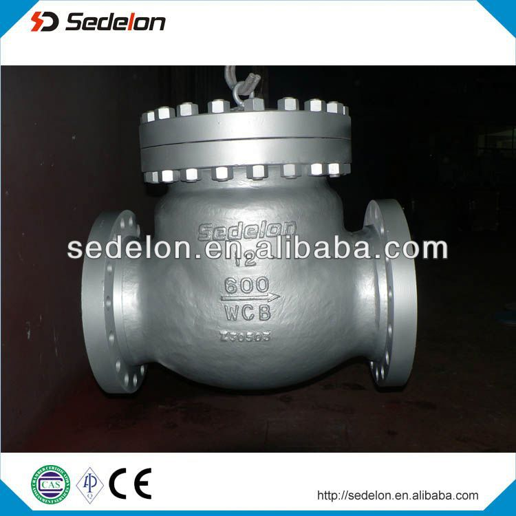 600LB bolt bonnet WCB Swing Check Valve