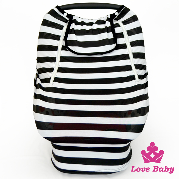 New baby product cheap striped infant monocular carriage boys&girls bedding construction car cover