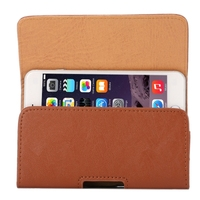 4.7 inch Bark Texture Horizontal Style Leather Waist Bag with Back Splint for iPhone 6