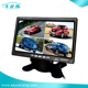 "Professional for Bus or Truck 7"" 4 Ways Input TFT LCD Color Quad Monitor"