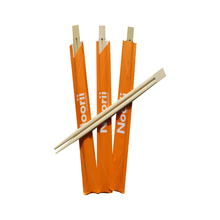 Cheap Disposable Custom Bulk Bamboo Paper Package Wrapped Kids Chopsticks