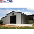 Customized professional Steel Building Homes With Garage With Good Service