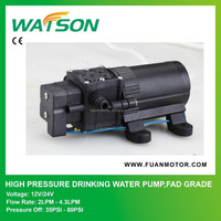 High Pressure Drinking Water Pump, FDA Grade Fit for Water Dispenser