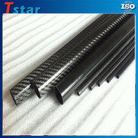 Wholesale free sample high strength high quality carbon fiber tube with factory price