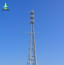Nine years foreign trade experience Hot dipped galvanized cellular radio am fm digital tv antennas lattice tower