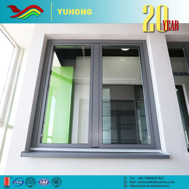 Metal Custom Super Value Profitability 3 panel triple pvc casement window