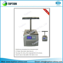 High quality lyophilizer 600W cheap price TOPT-10E Vacuum Freeze Dryer for sale