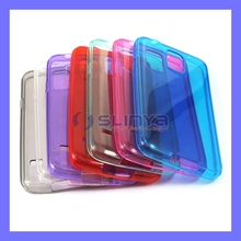 Free Sample Nontoxic Semi Transparent TPU Case For Galaxy