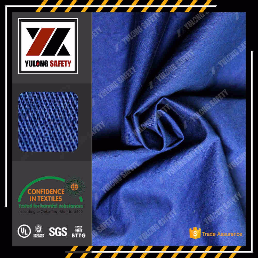 Yulong Supply NFPA2112 Flame Retardant Weaved Satin Fabric