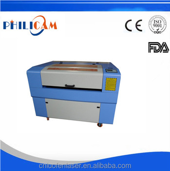 China manufacture philicam ruofen 2015 new design 6090 plywood laser cutting machine