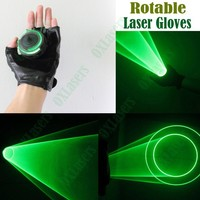 OXLasers auto moving green laser gloves palm laser for DJ dancing club rotating laser show light free shipping