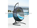 leisure outdoor rattan furniture weaving hanging swing chair(Y9068)