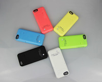 Top Quality 2200mah Backup Battery Case for iPhone5 5S 5C PayPal Escrow