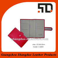 Wholesale Leather Notebook Cover for Women with Snap Flip Closure