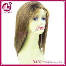 all hand made rightness straight full lace wig charisma in brazilian dark brown color hair cheery hair salon full lace wig style