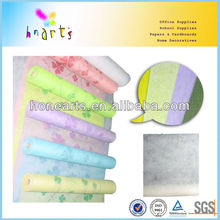 colorful rayon stretch wrap fabric