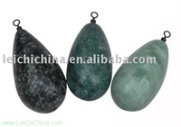 wholesale tear drop fishing stone sinker