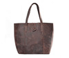 Vintage Crazy Horse Leather Women Tote Bag Shopping Shoulder Bag YD006