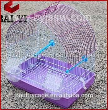 Beautiful Small Outdoor Wood Stainless steel Parrot Bird Cage For Sale
