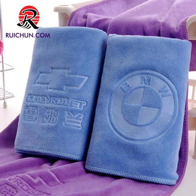 Custom design super absorbent microfiber gym towel waffle