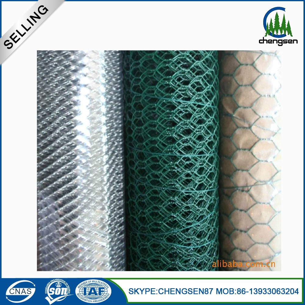 On line shopping Hexagonal chicken wire mesh for rabbit cage
