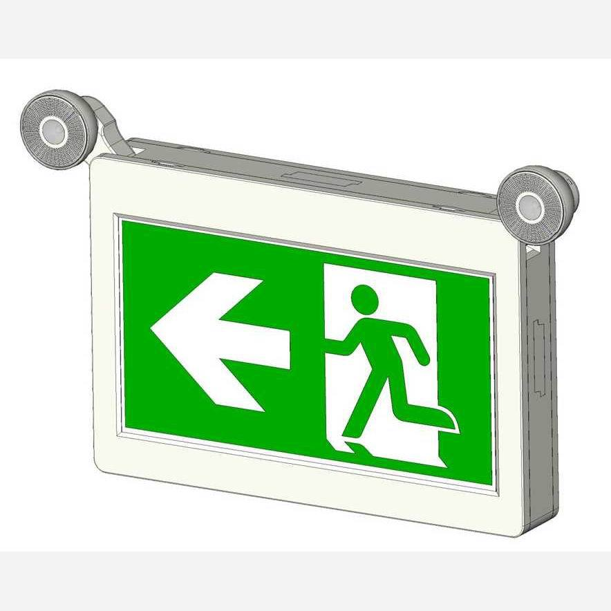 CBR-880 cUL CSA Led emergency exit sign running man