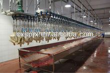poultry slaughterhouse equipment/meat processing machinery/high efficient bloodletting line