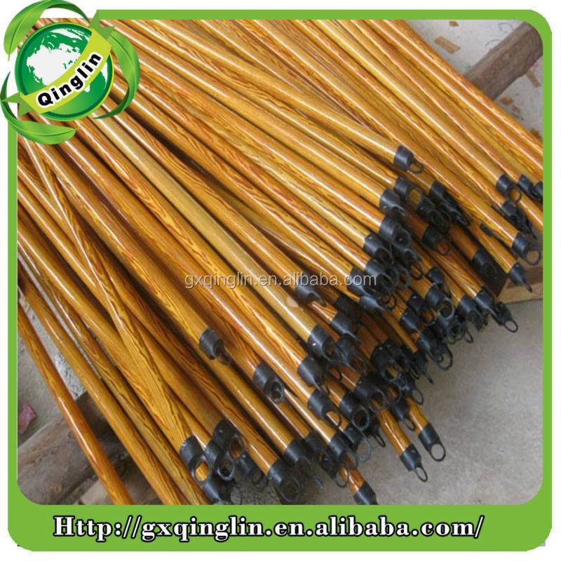 Natural hard wood poles for broom, broom wood poles ,wood pole price