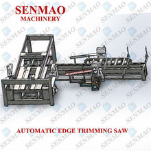 hard plywood automatic four sides cutting machine/table saw for woodworking