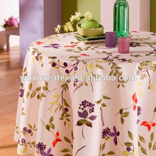 New design polyester printed Easter tablecloth
