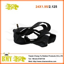 Hot sale road bick tire 24x1.95 bicycle inner tube