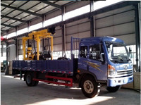 Portable truck mounted YH-200Y/Y China High quality small truck mounted drilling machine second hand