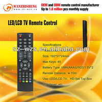 for Middle-East, EU, Africa, South America market-NEC TV box learning remote control