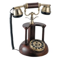 basic wall mounted corded star phone ,wall mountable corded phone