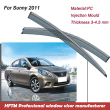 For Sunny 2011 window visor 12 months warranty auto parts wholesale window film