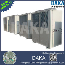 Compact Condensing Unit, double fan air-cooled unit for suprmarket display Cabinet