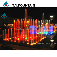 Large Scale Decoraitve Dancing Water Music Fountain